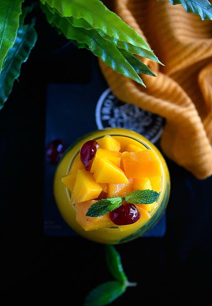 mango pudding thai style