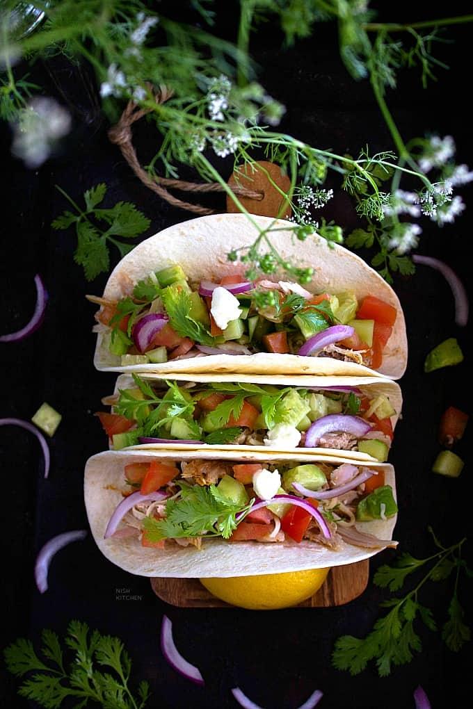 Healthy turkey tacos recipe