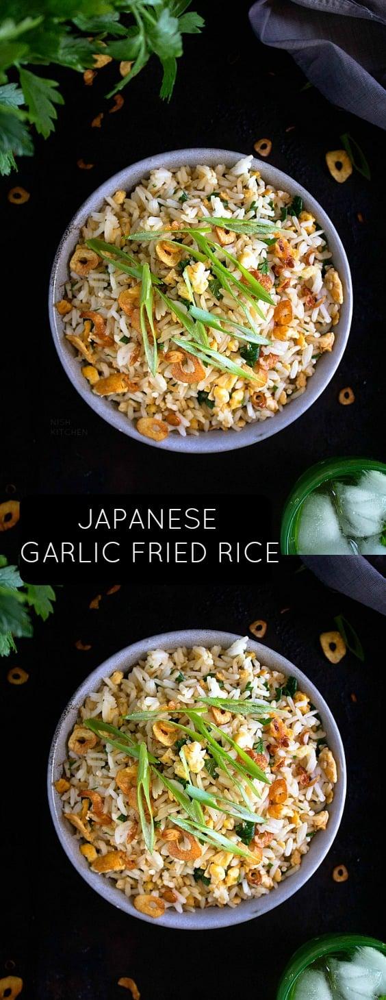 Japanese Garlic fried Rice